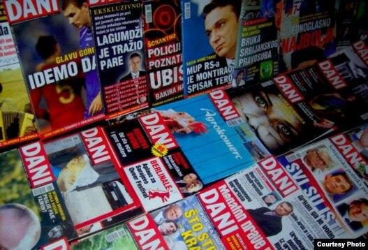 Naslovne stranice BH Dana. Foto: www.bhdani.com