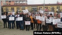 Protest ispred tužilaštva