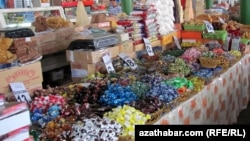 Azyk harytlarynyň bazary, Türkmenistan