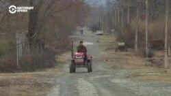 """В """"русском"""" селе в Грузии до сих пор нет дороги и газа"""