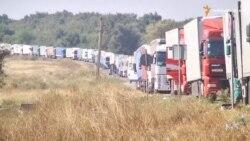 Кримські татари та українські активісти перекрили адмінкордон з Кримом