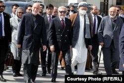 سفر هیئت افغانستان به رهبری عبدالله عبدالله، رئیس شورای عالی مصالحه ملی به مسکو
