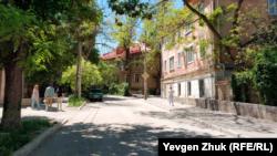 Улица Щербака в Севастополе