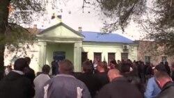 В Геническом районе активистов блокады просят убрать блокпосты (видео)
