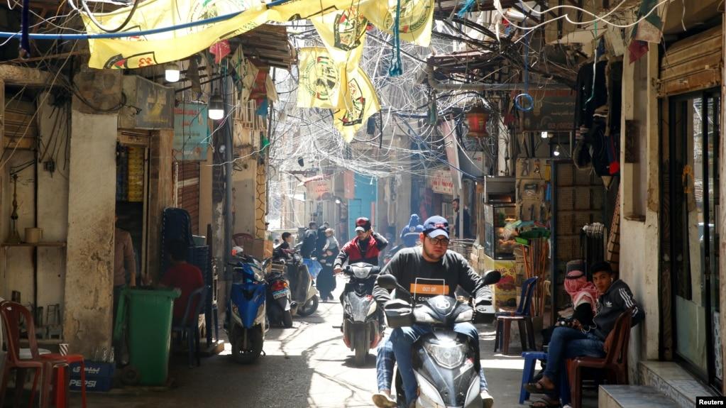 عکسی از یکی محلههای بیروت