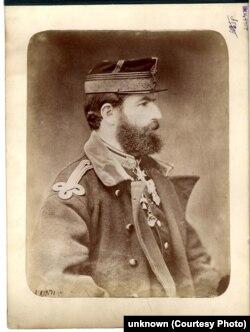 Carol I în timpul Războiului de Independență, 1877-1878. Arhivele Naționale.