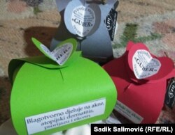 Mirko je nedavno pokrenuo proizvodnju ljekovitih sapuna koristeći vodu banje Guber kraj Srebrenice