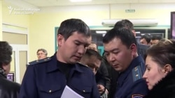 Officials Raid Kyrgyz TV Station