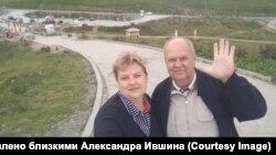 Александр Ившин с дочерью