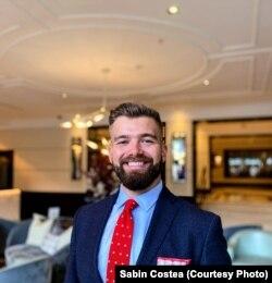 Sabin Costea, manager de vânzări, evenimente și conferințe la Conrad Dublin