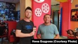 Максим Тимохин и Виталий Колбин