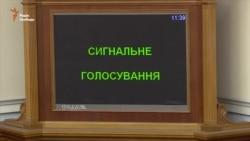 Парубій закрив засідання парламенту – недостатньо голосів (відео)
