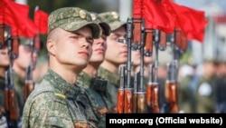 Подготовка к военному параду 9 мая. Тирасполь, 30 апреля, 2021