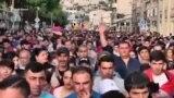 В Армении продолжаются антиправительственные демонстрации (видео)