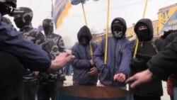 Protest ispred ruske ambasade u Kijevu