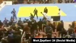 Массовая драка в Каспийске на турнире по дзюдо