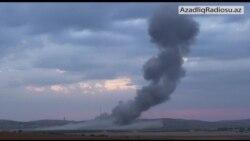 ABŞ təyyarələri Kobanidə yaraqlıların mövqelərini bombalayır