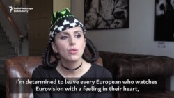 Ukraine's Crimean Tatar Eurovision Singer Shares Message Of Peace