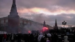 Задержания по статье о массовых беспорядках в Крыму и России (видео)