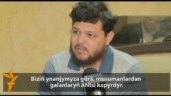 Türkmenistanly diýilýän söweşiji Siriýada