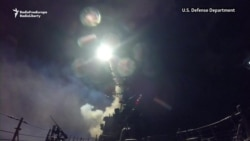 U.S. Warships Launch Cruise Missiles Against Syrian Air Base