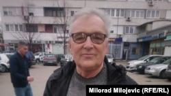 Zare Dimitrijević (na fotografiji, 9. februar): Mogu da izdržim 15 dana u mjesecu