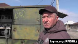 Хаджи Сулейманов, участник «поляны протеста» в Симферополе