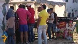 Kanjiža: Humanitarna pomoć i trgovina u izbegličkom kampu