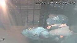 """Боевой прием """"загиб руки"""" в исполнении сотрудника отдела полиции """"Магнитогорский"""""""