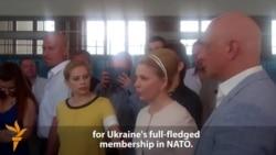 Tymoshenko Says New President Must Seek NATO Membership For Ukraine