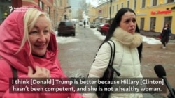 'Grudges' And 'Dirty Tricks': Russians Weigh In On U.S. Elections