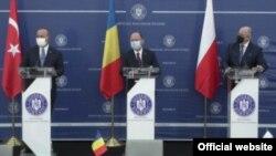 Trilaterala România - Polonia -Turcia cu participarea Ucrainei și Georgiei, București 23 aprilie 2021