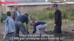 Rusiyada azərbaycanlı fermer və sərxoş fəhlələri- [Video]