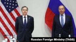 Իսլանդիա - ԱՄՆ պետքարտուղար Էնթոնի Բլինքենի և ՌԴ ԱԳ նախարար Սերգեյ Լավրովի հանդիպումը Ռեյկյավիկում, 19-ը մայիսի, 2021թ․