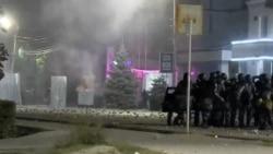 Kyrgyz Police Forcibly Break Up Demonstration In Bishkek After Disputed Elections
