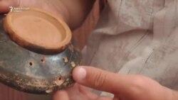 Уникальная находка приднестровских археологов — чаша со знаком древних скифов