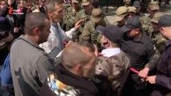 Одеський «Антитруханівський майдан» мітингує під стінами АП