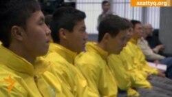 Юные футболисты вернулись c учёбы в Бразилии