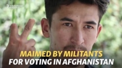 Maimed By Taliban For Voting, Afghan Man Returns To The Polls