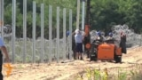 Hungarian Army Hard At Work On Border Fence