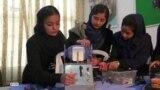 Как афганские школьницы вносят вклад в борьбу с COVID-19