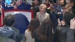Хиллари Клинтон Нью-Йорк штатында добуш берди