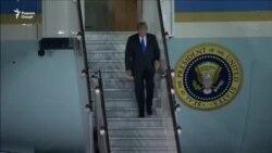 Президенти ИМА барои мулоқот бо раҳбари Кореяи Шимолӣ ба Сингапур ташриф овард