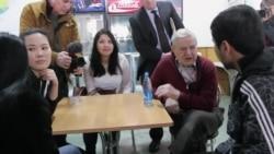 Джордж Сорос встретился со студентами АУЦА