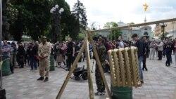 Під Радою протестували проти підняття комунальних тарифів