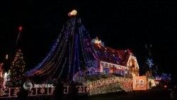 Житель Германии украсил свой дом к Рождеству