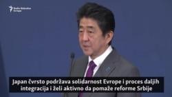 Abe predlaže saradnju Japana sa Zapadnim Balkanom