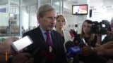 Hahn Says Attack On Journalist May 'Hamper' Montenegro's EU Hopes