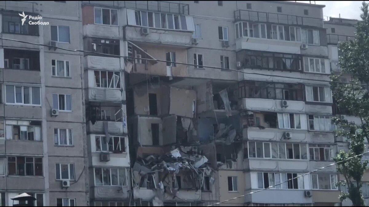 В Киеве произошел взрыв в жилом доме. Видео с места событий