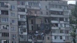 У Києві стався вибух у житловому будинку. Відео з місця подій